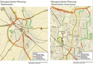 Übergeordnete Planung: Radverkehr