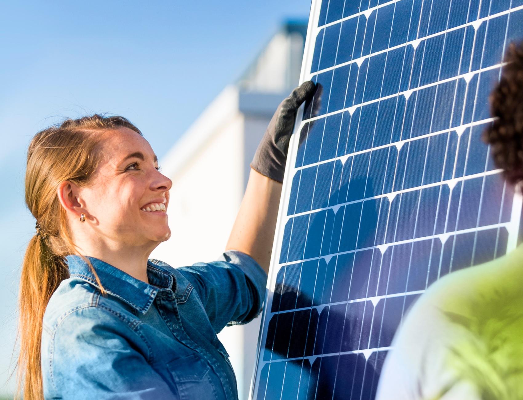 Photovoltaik auf Merings Dächer