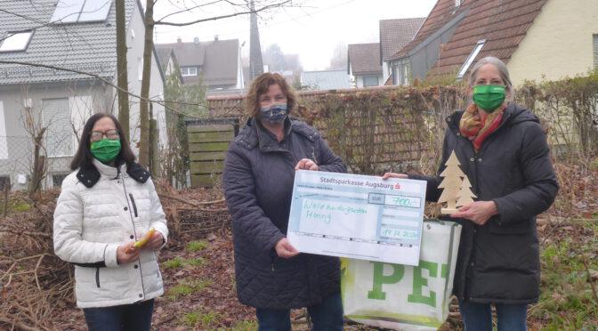 Grüne Spende für den Waldkindergarten